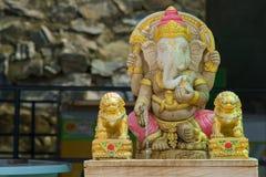 Senhor da estátua de Ganesha do sucesso Fotos de Stock Royalty Free