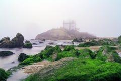 Senhor da igreja da pedra em Porto, Portugal Imagem de Stock