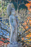 Senhor da piedade no templo de Haseder em Kamakura foto de stock