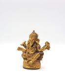 Senhor de brilho metálico do ganesha do ouro do sucesso Imagens de Stock Royalty Free