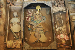 Senhor do túmulo de Sipan Foto de Stock Royalty Free