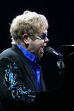 Senhor Elton John imagem de stock