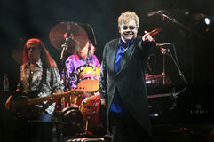 Senhor Elton John Fotografia de Stock Royalty Free