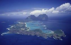Senhor Howe Ilha Fotografia de Stock Royalty Free