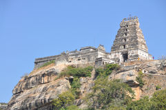 Senhor Narasimha Swamy Templo fotografia de stock royalty free