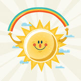 Senhor Sunshine Fotografia de Stock