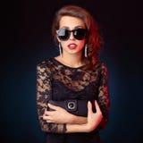 Senhora à moda Fotos de Stock Royalty Free