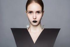 Senhora à moda Imagens de Stock