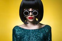 Senhora à moda Imagens de Stock Royalty Free
