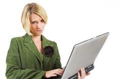 Senhora #10 do negócio Foto de Stock Royalty Free