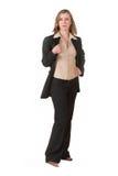 Senhora #120 do negócio Fotografia de Stock