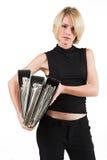Senhora #33 do negócio Foto de Stock Royalty Free