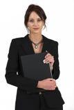 Senhora #56 do negócio Fotografia de Stock