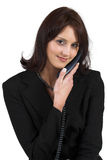 Senhora #61 do negócio Imagens de Stock Royalty Free