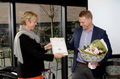 Senhora ANNE VIBJE ISAKSEN_HENRIK G jensen Fotografia de Stock Royalty Free