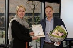 Senhora ANNE VIBJE ISAKSEN_HENRIK G jensen Imagens de Stock