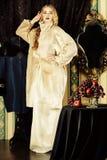 Senhora aristocrática fotos de stock