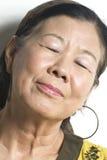 Senhora asiática Foto de Stock Royalty Free