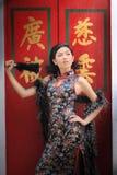 Senhora chinesa Imagens de Stock Royalty Free