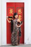 Senhora chinesa Foto de Stock Royalty Free