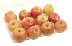 Senhora cor-de-rosa maçãs Imagens de Stock Royalty Free