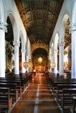 Senhora da Hora kyrka i Matosinhos arkivfoto