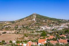 Senhora da Penha peak in Sao Mamede Sierra in Portalegre Stock Photography