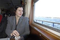 Senhora DANA REIZNICE-OZOLA _MINISTER PARA LETÓNIA Foto de Stock