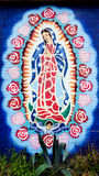 Senhora de Guadalupe fotos de stock royalty free