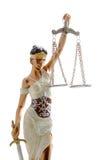 Senhora de justiça Fotografia de Stock