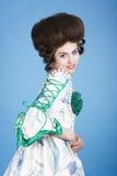 Senhora de sorriso Imagens de Stock Royalty Free