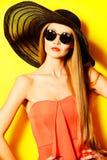 Senhora de Vogue imagens de stock royalty free