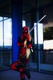 Senhora Deadpool Fotos de Stock Royalty Free