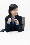 Senhora do escritório Fotografia de Stock
