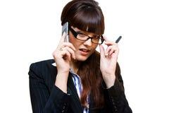 Senhora do negócio Foto de Stock