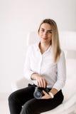 Senhora #37 do negócio Imagem de Stock