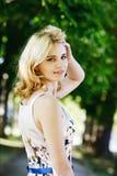 Senhora do verão Foto de Stock
