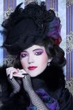 Senhora do vintage. Imagem de Stock Royalty Free