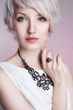 Senhora elegante bonita Imagens de Stock Royalty Free