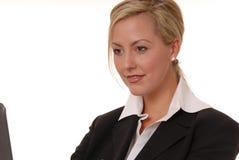 Senhora encantadora 103 do negócio Imagens de Stock