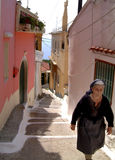 Senhora grega Foto de Stock