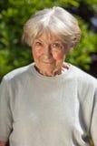 Senhora idosa amável Imagens de Stock Royalty Free