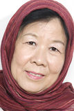 Senhora idosa asiática Fotografia de Stock Royalty Free