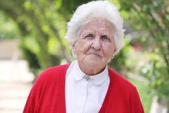 Senhora idosa de Beautifl Fotos de Stock