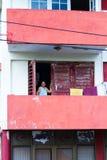 Senhora idosa em Havana Fotografia de Stock Royalty Free