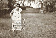 senhora idosa Filipinas da filipina Fotografia de Stock Royalty Free