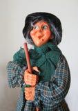 A senhora idosa pronta para o esmagamento Fotografia de Stock Royalty Free