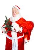 Senhora idosa Santa Fotos de Stock Royalty Free
