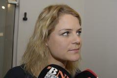 Senhora JOHANNE SCHIMDT NIELSEN_ENHEDSLISTEN Fotos de Stock