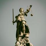 Senhora Justiça Imagens de Stock Royalty Free